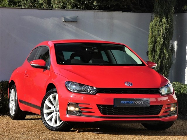 used VW Scirocco TSI BLUEMOTION TECHNOLOGY