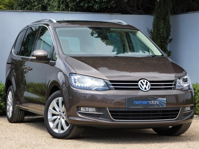 used VW Sharan SEL TDI BLUEMOTION TECHNOLOGY DSG