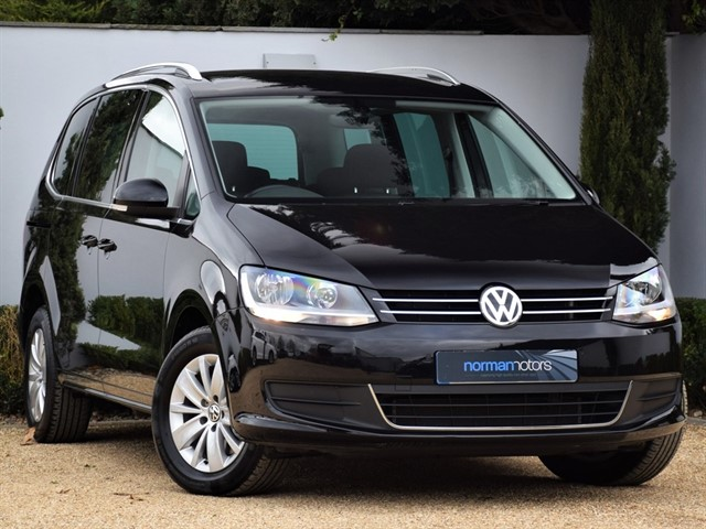 used VW Sharan SE NAV TDI BLUEMOTION TECHNOLOGY DSG