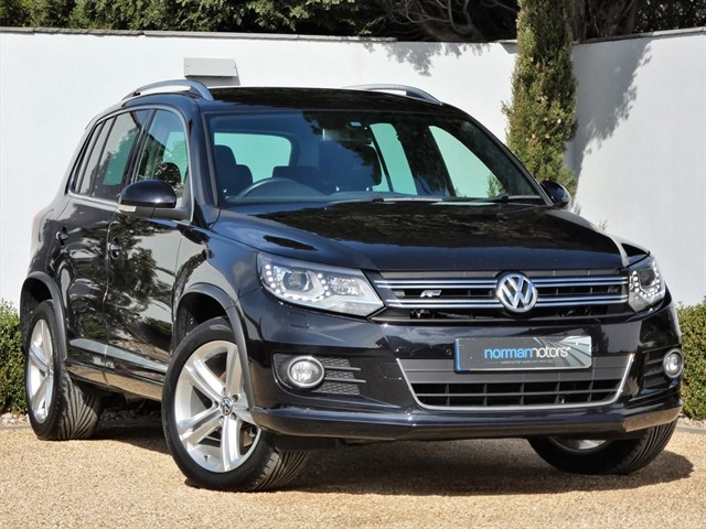 used VW Tiguan R LINE TDI BLUEMOTION TECH 4MOTION DSG