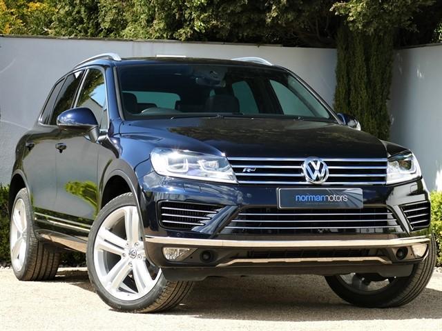 used VW Touareg V6 R-LINE PLUS TDI BLUEMOTION TECHNOLOGY