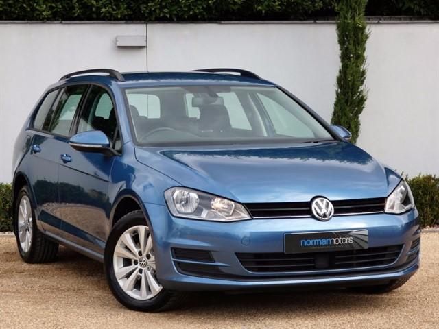 used VW Golf SE TDI BLUEMOTION TECHNOLOGY DSG