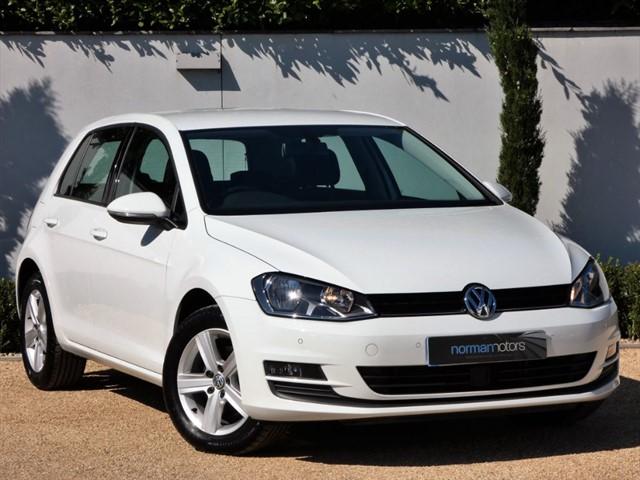 used VW Golf MATCH TDI BLUEMOTION TECHNOLOGY