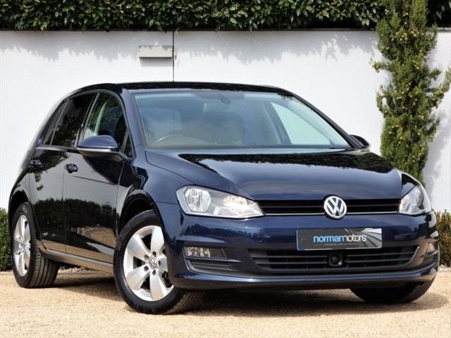 used VW Golf SE TDI BLUEMOTION TECHNOLOGY DSG