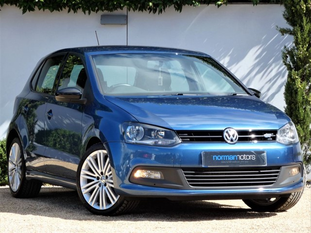 used VW Polo BLUEGT