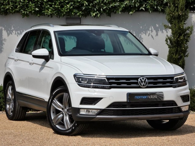 used VW Tiguan SEL TDI BMT 4MOTION