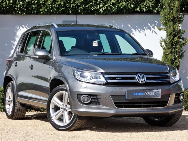 used VW Tiguan R LINE TDI BLUEMOTION TECHNOLOGY 4MOTION