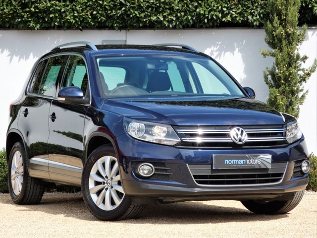 used VW Tiguan MATCH TDI BLUEMOTION TECHNOLOGY