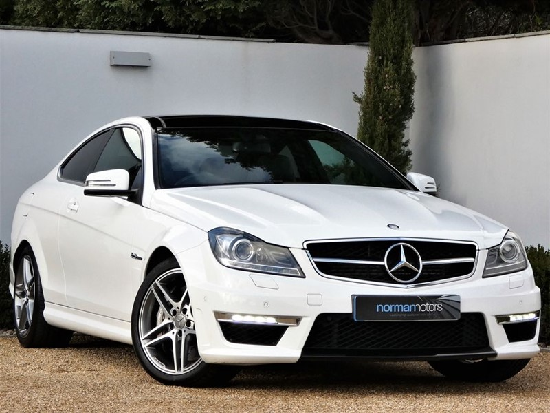 used polar white mercedes c63 amg for sale dorset. Black Bedroom Furniture Sets. Home Design Ideas