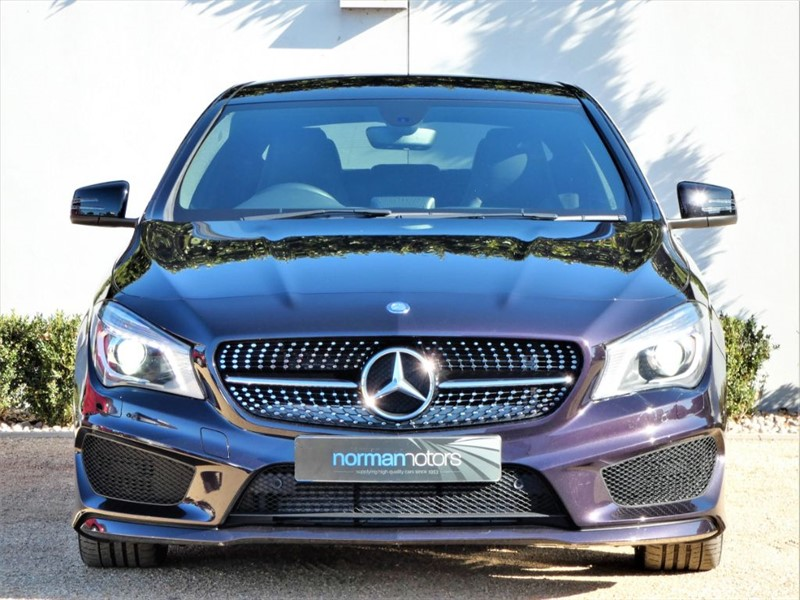 used northern light violet mercedes cla 220 cdi for sale dorset. Black Bedroom Furniture Sets. Home Design Ideas