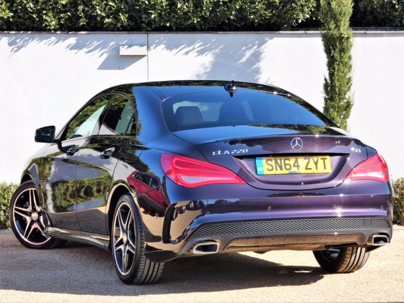 used northern light violet mercedes cla 220 cdi for sale. Black Bedroom Furniture Sets. Home Design Ideas