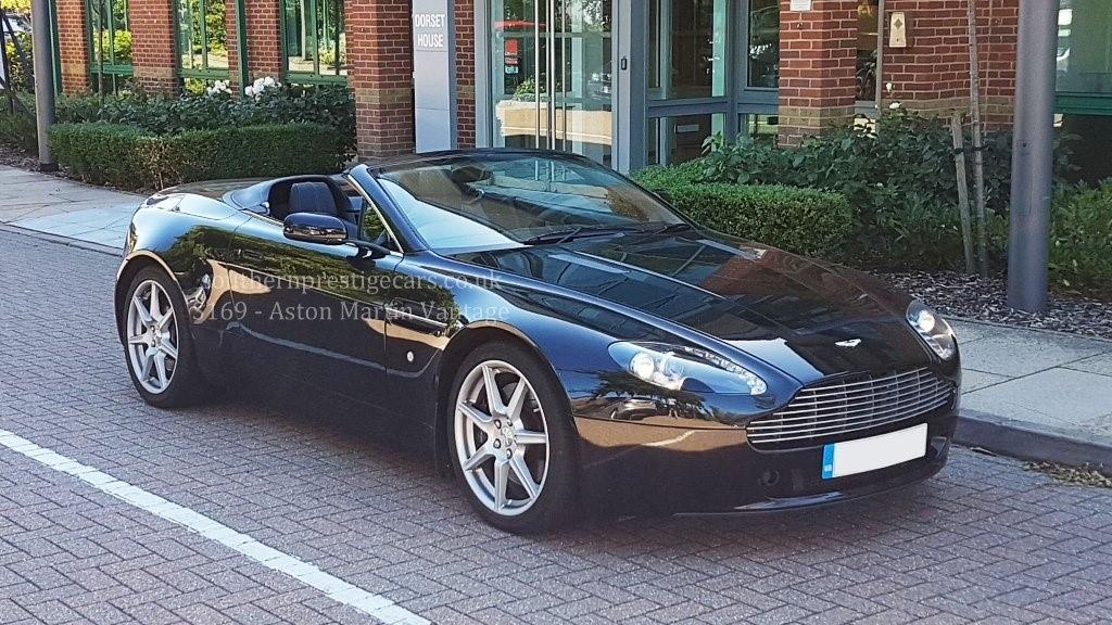 used Aston Martin Vantage V8 Roadster Sportshift 2dr in surrey