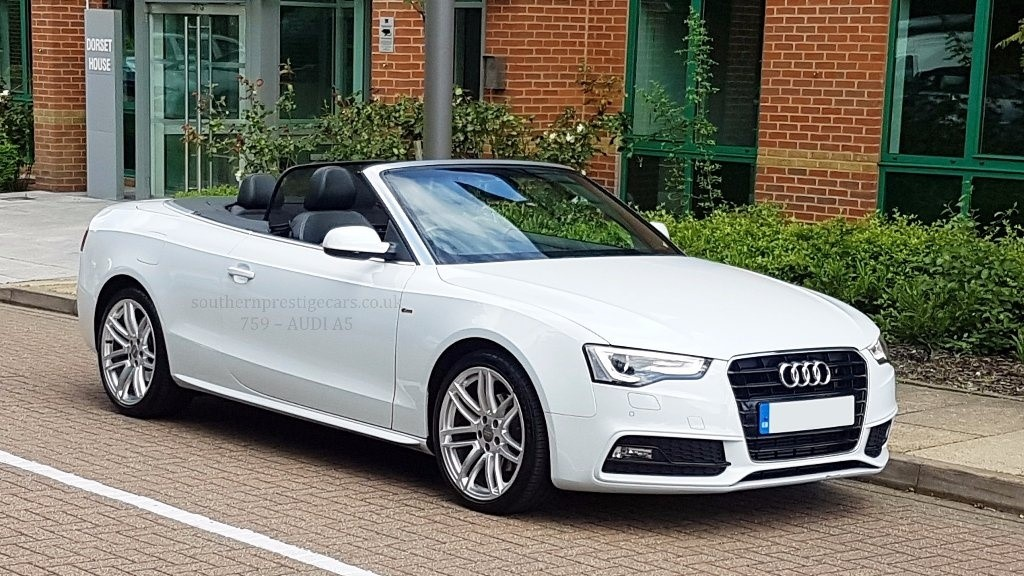 used white audi a5 for sale surrey. Black Bedroom Furniture Sets. Home Design Ideas
