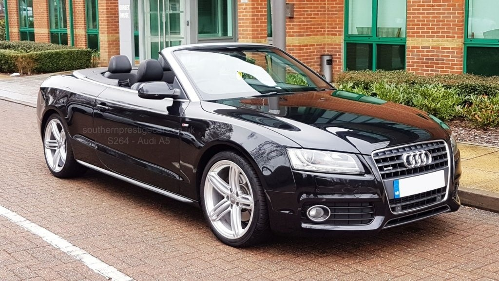 used Audi A5 Cabriolet TFSI S line Multitronic 2dr in surrey
