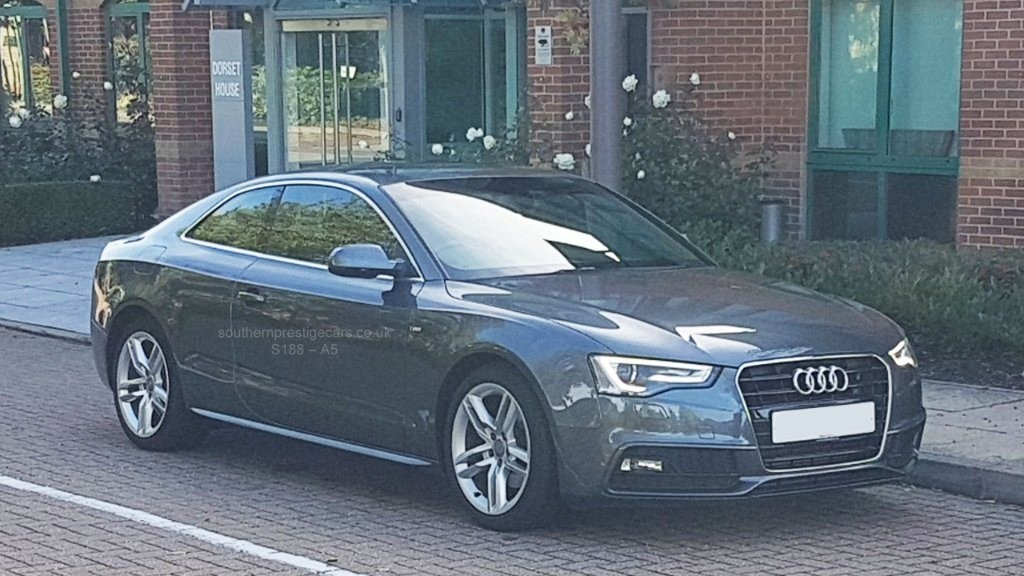 used Audi A5 TDI S line 2dr in surrey