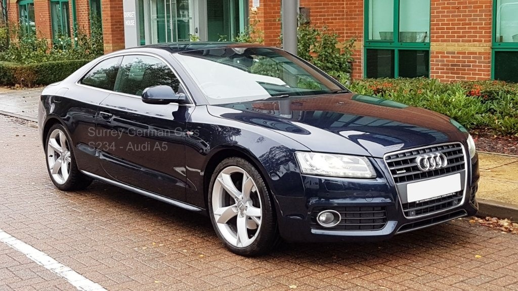 used Audi A5 TFSI S line Special Edition Quattro 2dr in surrey