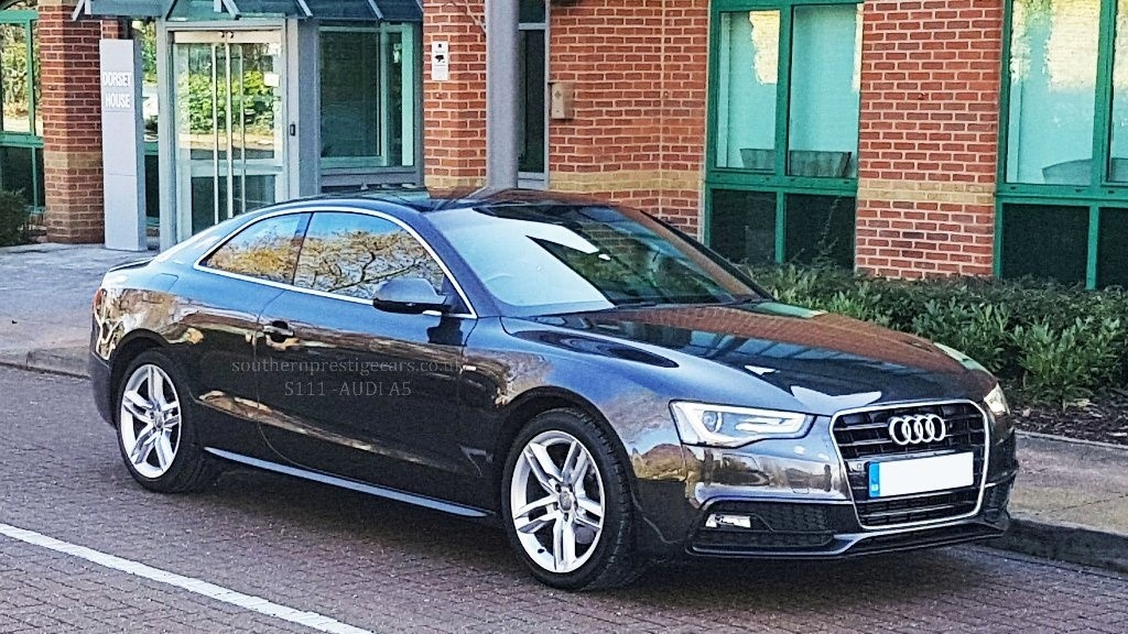 used Audi A5 TFSI S Line 2dr in surrey