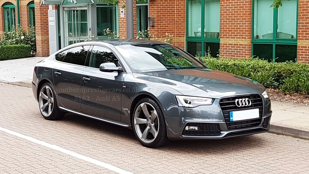 used Audi A5 TDI Black Edition Sportback Multitronic 5dr in surrey