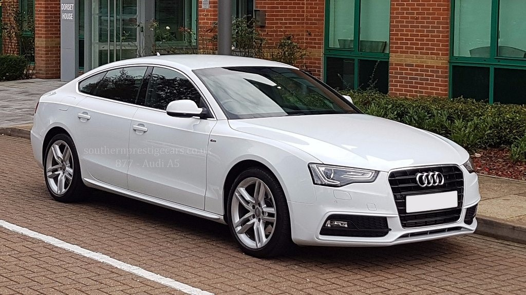 used Audi A5 TDI S Line Sportback Multitronic 5dr in surrey
