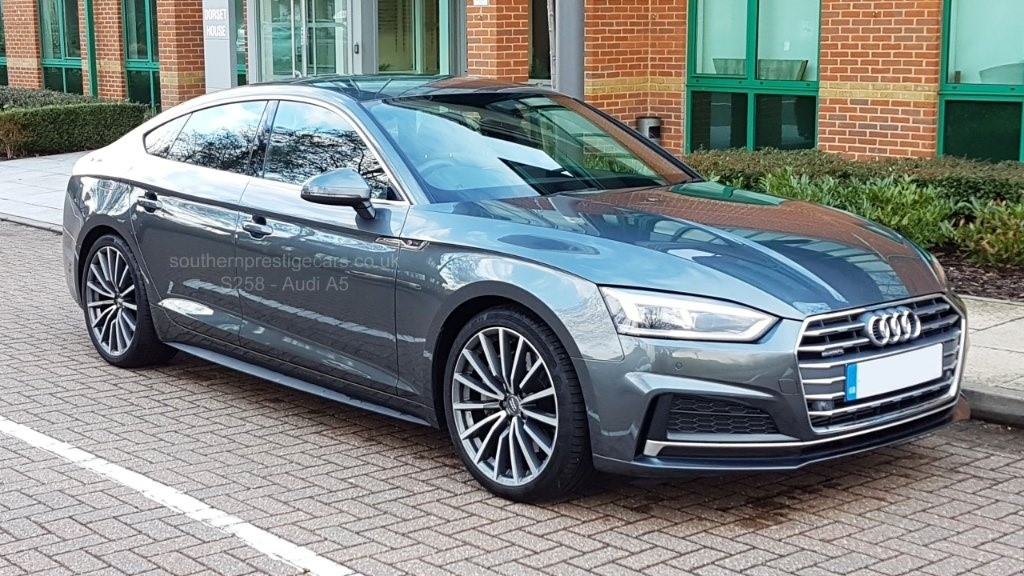 used Audi A5 TFSI S line Sportback Tronic quattro (s/s) 5dr in surrey