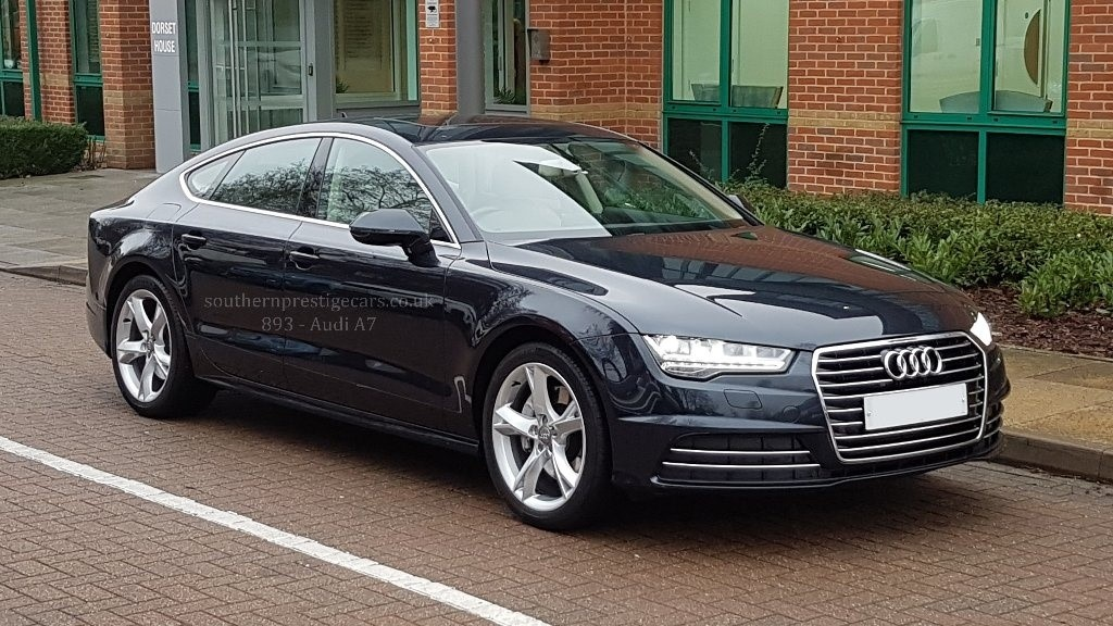 used Audi A7 TDI ultra SE Executive Sportback S Tronic 5dr in surrey