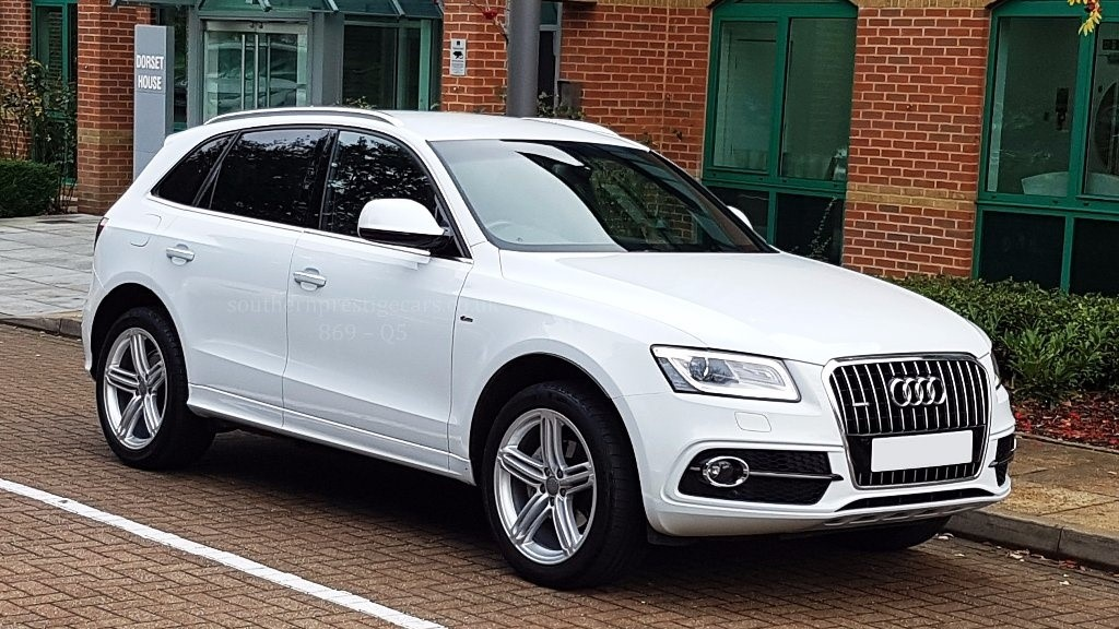 used Audi Q5 TDI S Line Plus Tronic Quattro 5dr (start/stop) in surrey