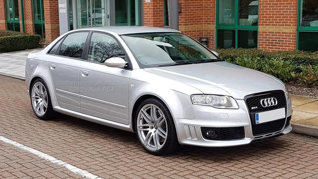 used Audi RS4 Saloon quattro 4dr in surrey