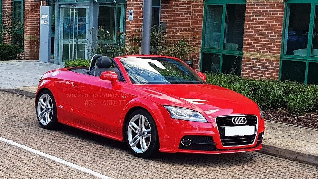 used Audi TT TFSI S Line Roadster Tronic 2dr in surrey