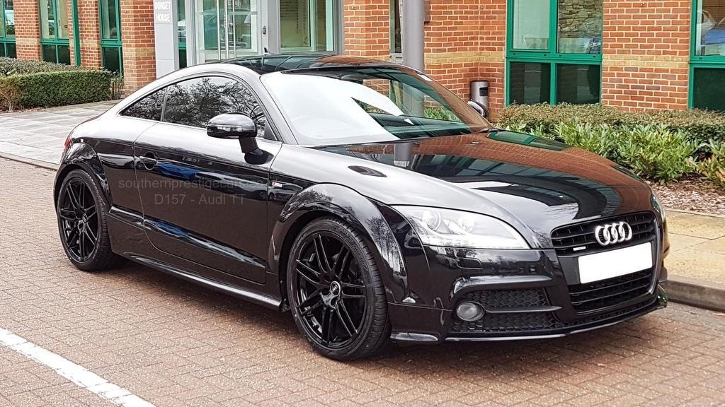 used Audi TT TDI Black Edition S Tronic quattro 3dr in surrey