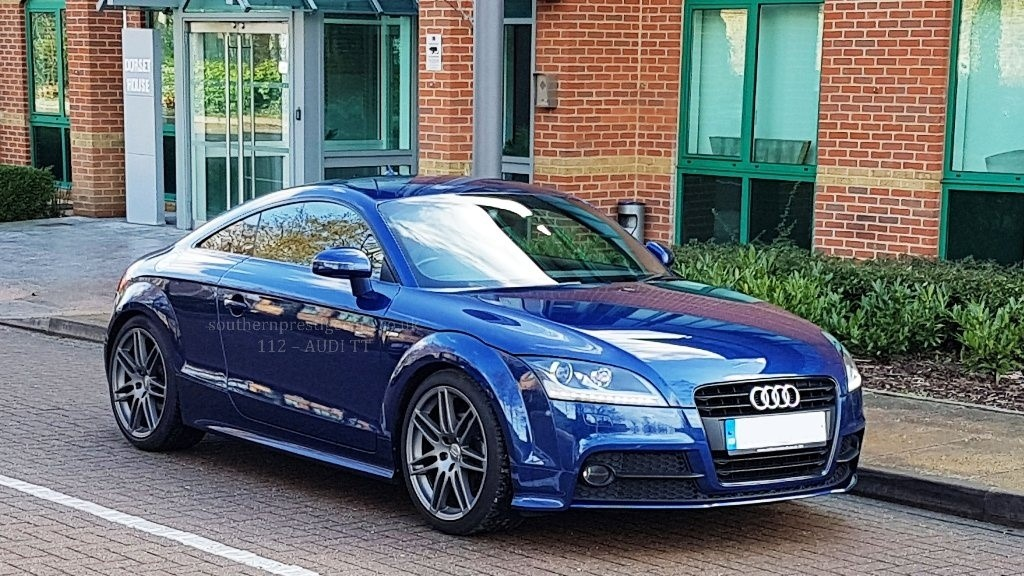 used Audi TT TFSI Black Edition 3dr in surrey