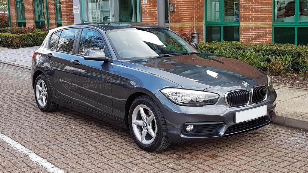 used BMW 116d 1 Series EfficientDynamics Plus Sports Hatch (s/s) 5dr in surrey