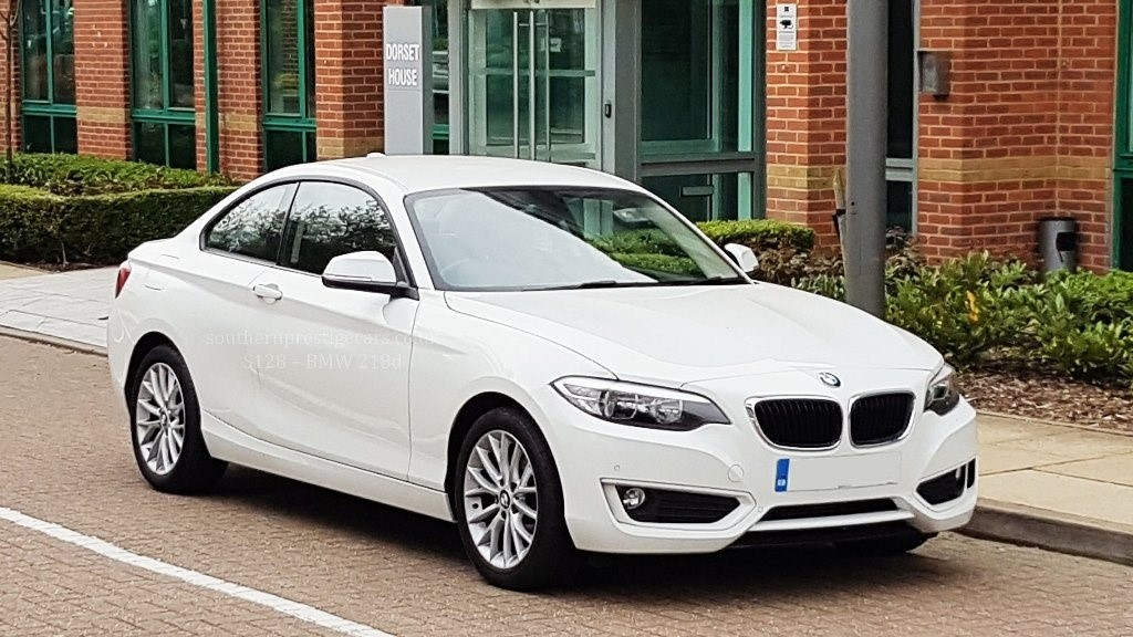 used BMW 218d 2 Series SE (s/s) 2dr in surrey