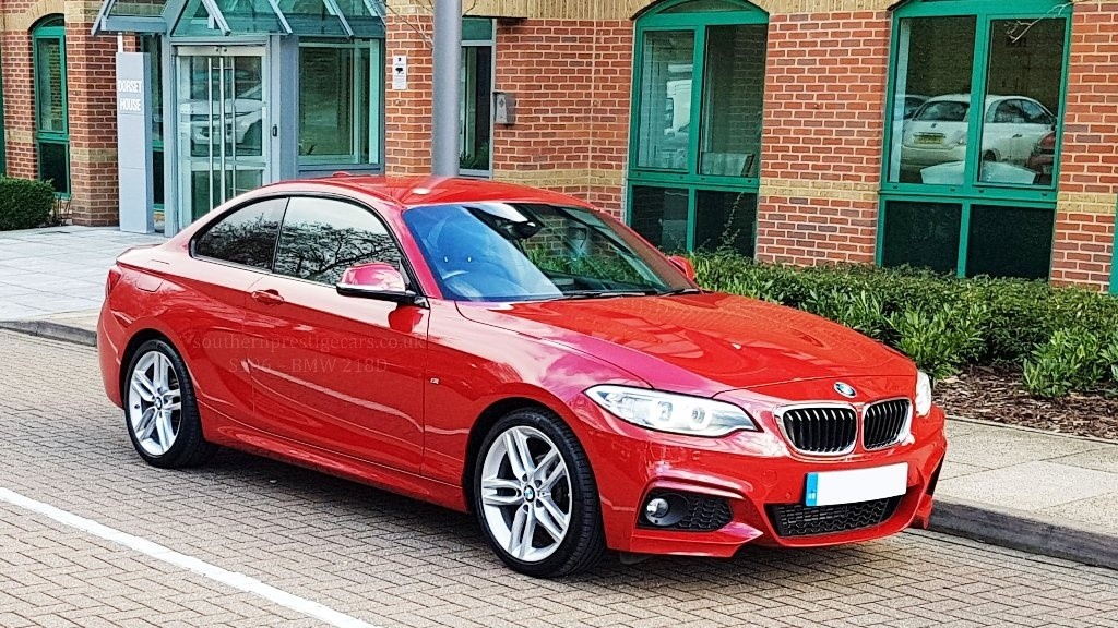 used BMW 218d 2 Series M Sport (s/s) 2dr in surrey
