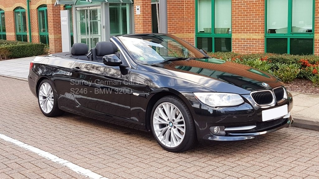 used BMW 320d 3 Series SE 2dr in surrey