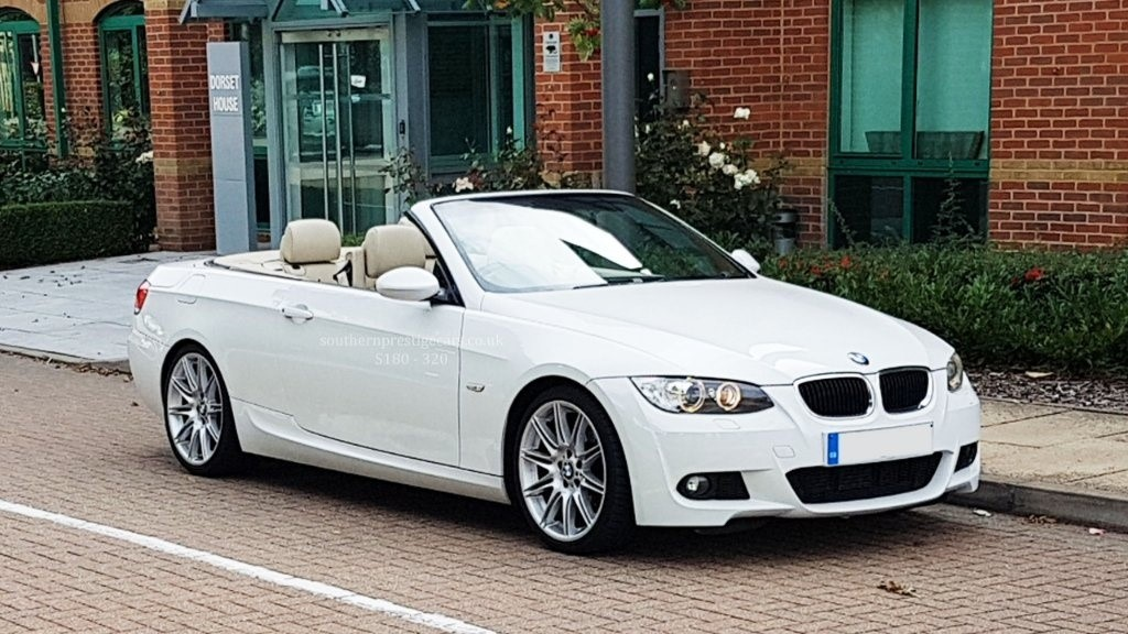 used BMW 320d 3 Series M Sport Highline 2dr in surrey