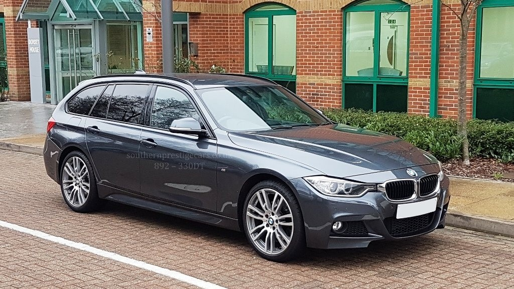 used BMW 330d 3 Series M Sport Touring Auto xDrive 5dr (start/stop) in surrey