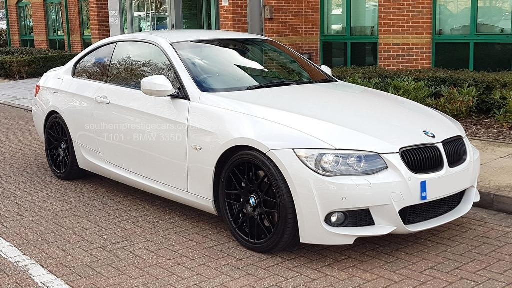 used BMW 335d 3 Series M Sport 2dr in surrey