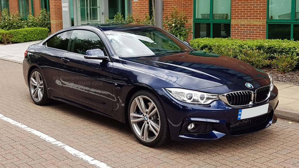 used BMW 420d 4 Series M Sport 2dr in surrey