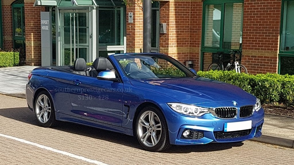 used BMW 428i 4 Series M Sport 2dr in surrey