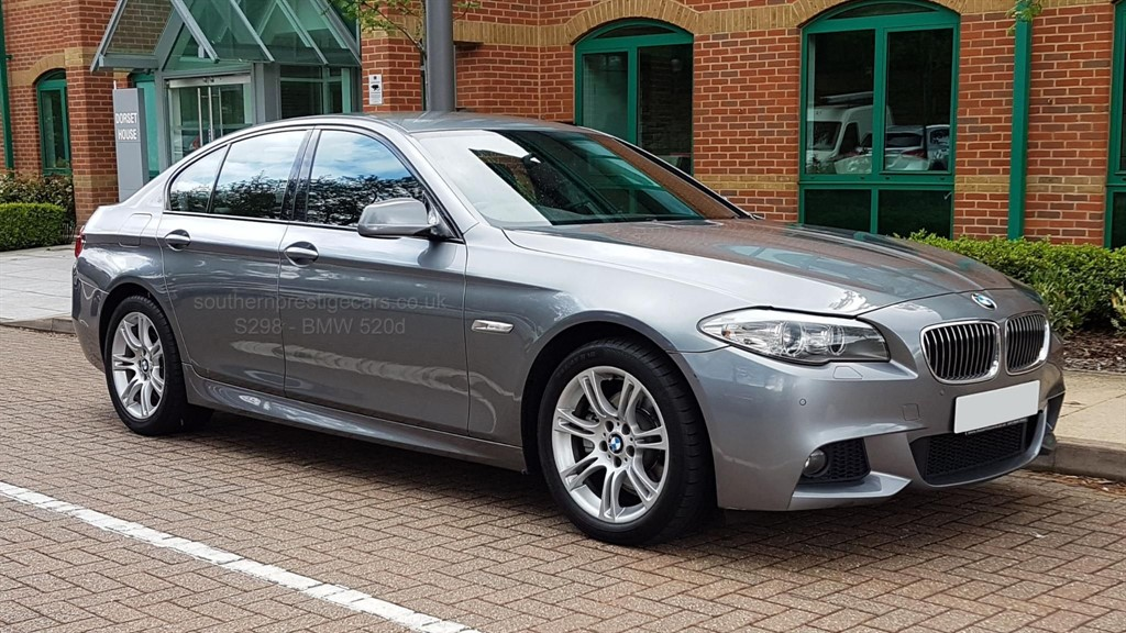 used BMW 520d 5 Series M Sport 4dr in surrey