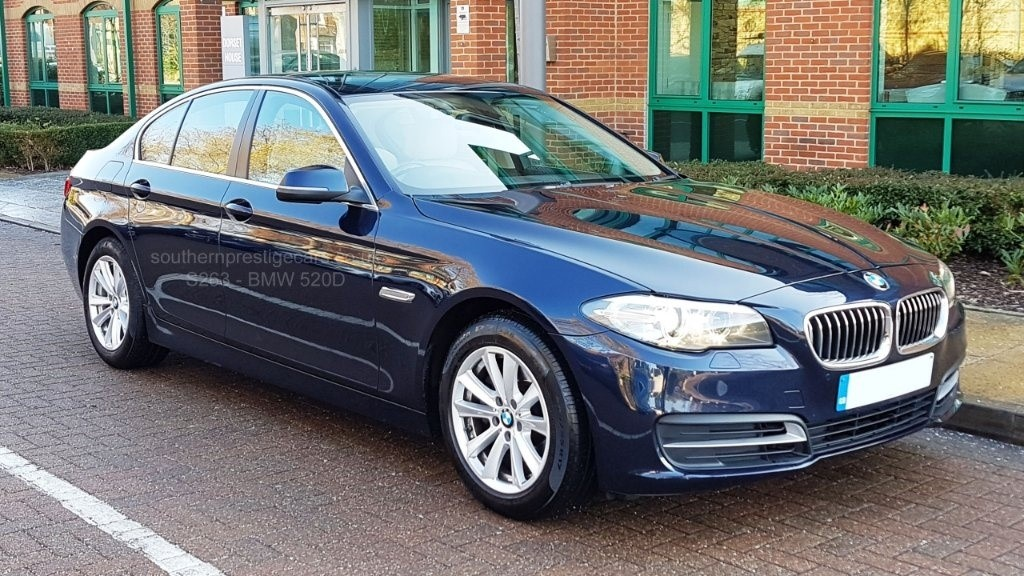 used BMW 520d 5 Series SE 4dr in surrey