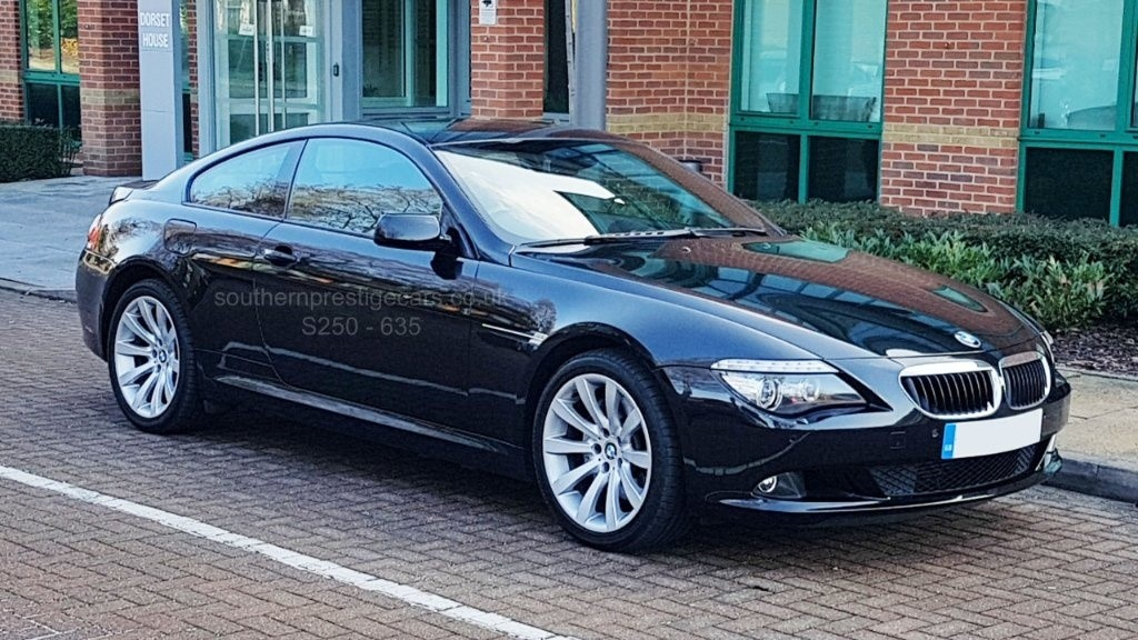 used BMW 635d 6 Series Sport 2dr in surrey