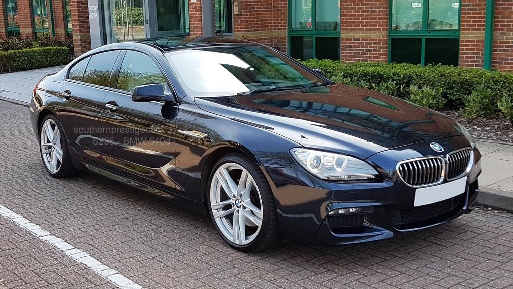 used BMW 640d 6 Series Gran Coupe M Sport 4dr in surrey