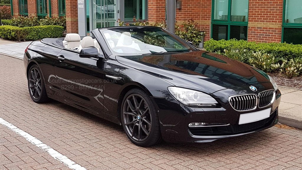 used BMW 640i 6 Series SE 2dr in surrey