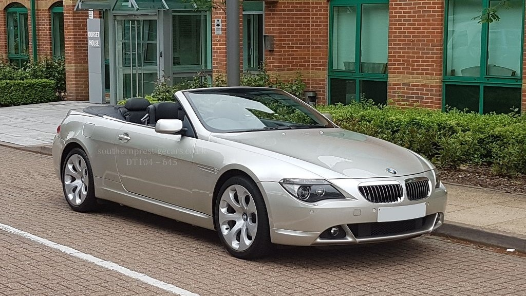 used BMW 645Ci 6 Series 2dr in surrey