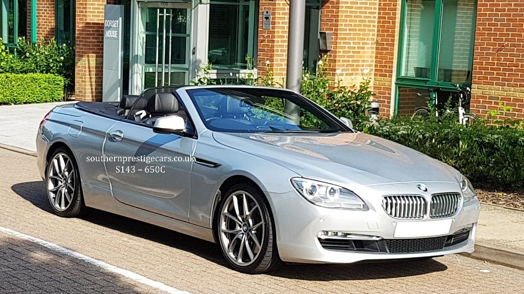 used BMW 650i 6 Series SE 2dr in surrey