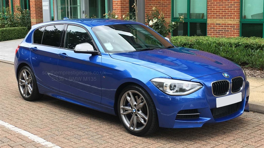used BMW M135i 1 Series Sports Hatch (s/s) 5dr in surrey