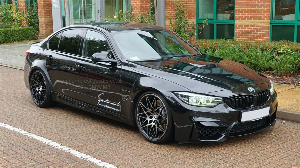 used BMW M3 BiTurbo Competition Pack DCT (s/s) 4dr in surrey