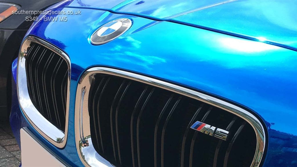 Used Blue BMW M5 for Sale | Surrey