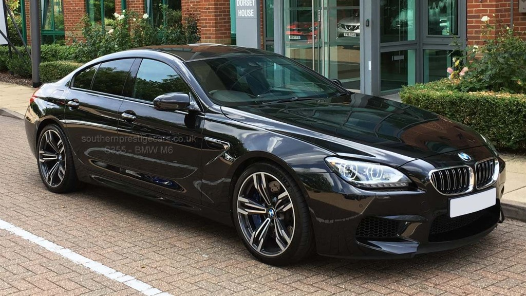 used BMW M6 Gran Coupe M DCT 4dr in surrey